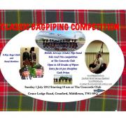 Classic Bagpipe Competition