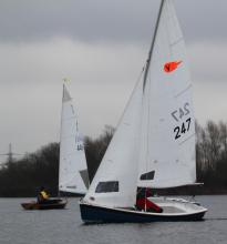 Silverwing dinghy sailing