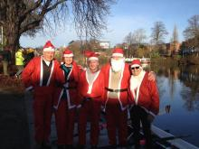 Christmas Charity row at Staines